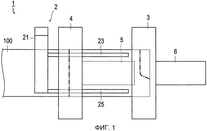 Устройство для изготовления аккумуляторных электродов и соответствующий способ