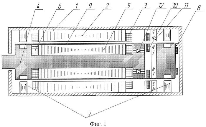 Высокоскоростная бесконтактная электрическая машина (варианты)