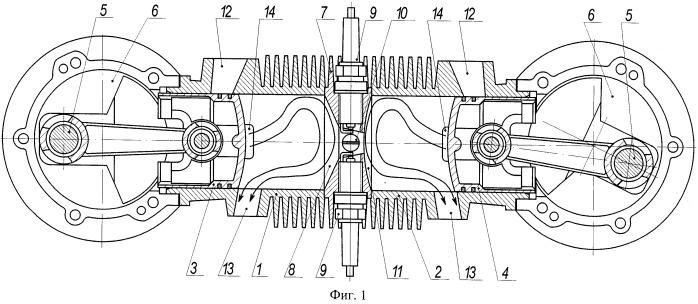 Двухтактный двигатель внутреннего сгорания
