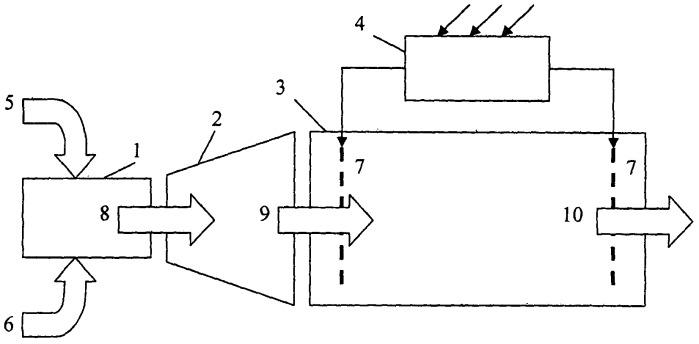 Плазменный двигатель на наночастицах металлов или металлоидов