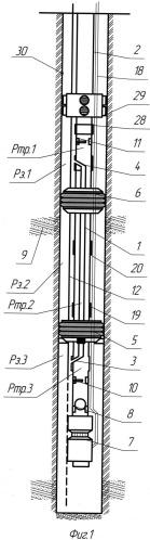 Двухпакерная установка для эксплуатации скважин электроприводным насосом с одновременной изоляцией интервала негерметичности и циркуляционный клапан