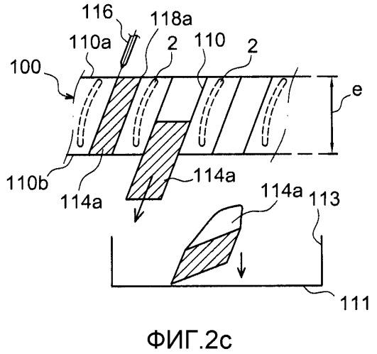 Оптимизированный способ производства моноблочного лопаточного колеса абразивной водяной струей