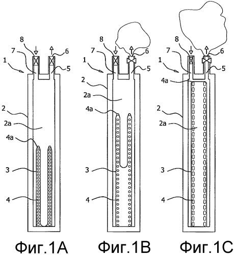 Резервуар для текучей среды для портативного устройства индивидуального ухода