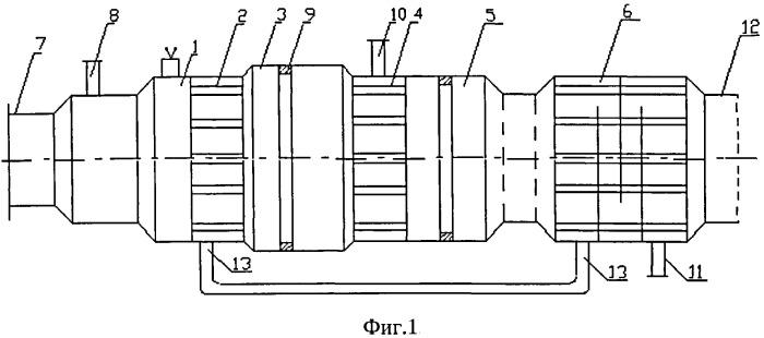 Устройство для получения непредельных углеводородов, преимущественно этилена