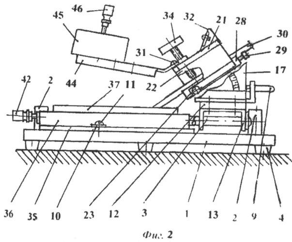 Устройство для ручной правки и заточки столярного и плотничного режущего инструмента