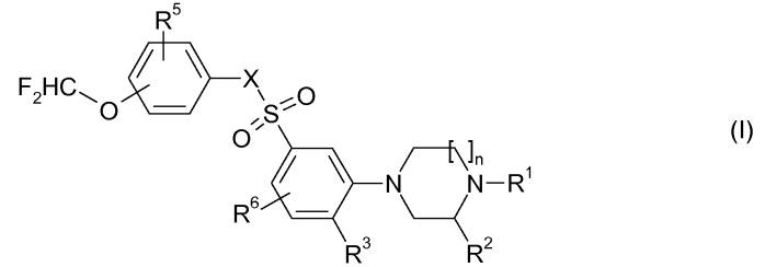 Соединения n-фенил(пиперазинил или гомопиперазинил)бензолсульфонамида или бензолсульфонилфенил(пиперазина или гомопиперазина), пригодные для лечения заболеваний, которые реагируют на модулирование рецептора 5-нт6 серотонина