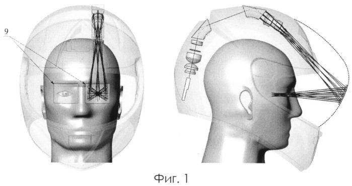 Шлем с проекционной системой