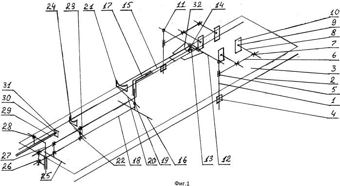 Ортопедическая приставка к хирургическому столу царева (варианты)