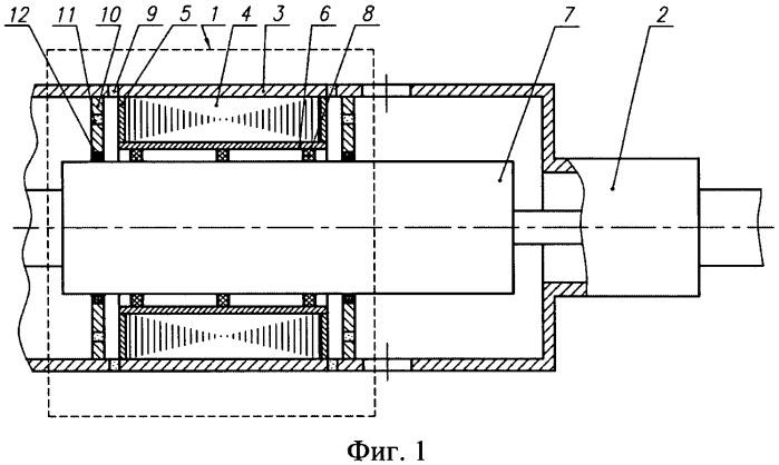 Погружная насосная установка с линейным электродвигателем открытого типа