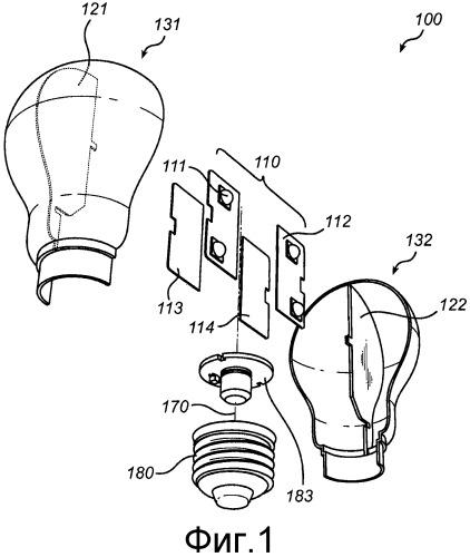 Устройство освещения и способ сборки устройства освещения