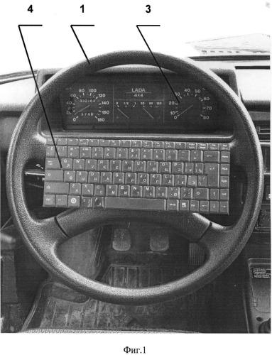 Пульт управления транспортным средством (варианты)