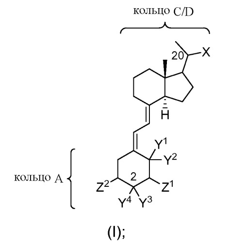 Новые активаторы рецепторов витамина d и способы их получения