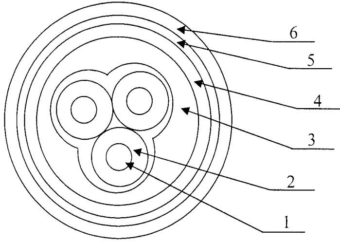 Кабель электрический холодостойкий, преимущественно взрывопожаробезопасный, нераспространяющий горение, для искробезопасных цепей