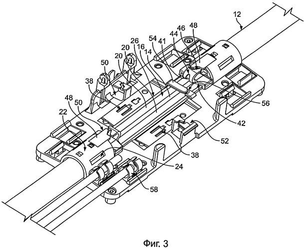 Муфта для оптоволоконного узла и оптоволоконный узел с использованием такой муфты