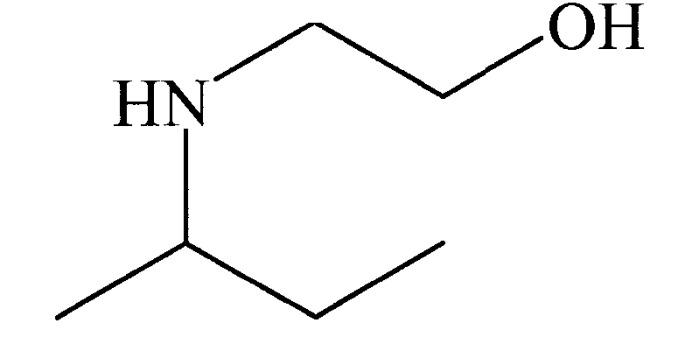 Применение 2-((1-метилпропил)амино)этанола в качестве добавки к водным суспензиям материалов, содержащих карбонат кальция