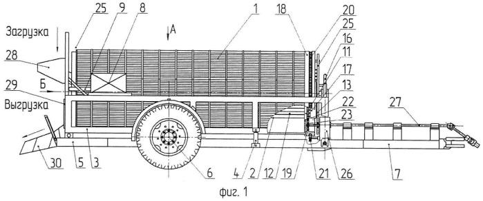 Машина для мойки и сортировки корнеклубнеплодов
