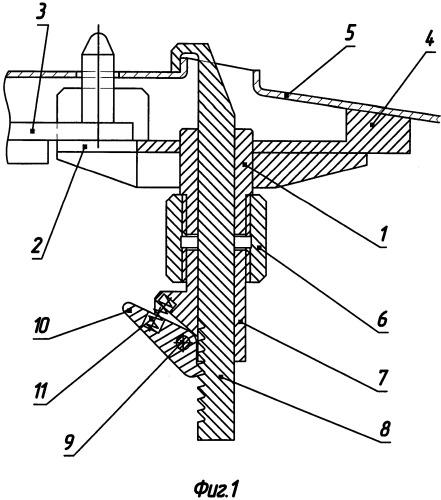 Устройство для крепления преимущественно кузова транспортного средства к подвеске грузонесущего конвейера