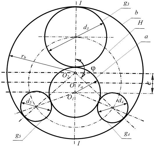Планетарный механизм
