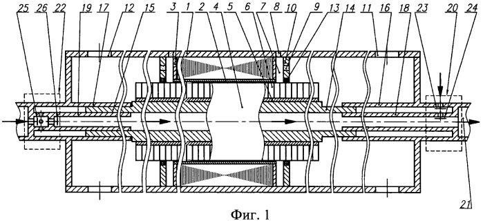 Погружная установка с линейным электродвигателем и насосом двойного действия