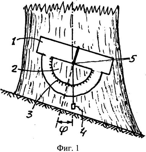 Способ измерения комля учетного дерева и устройство для его осуществления