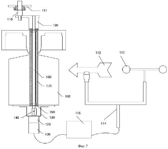 Ветроэнергетическая система с вертикальным валом и устройство автоматического регулирования угла лопасти