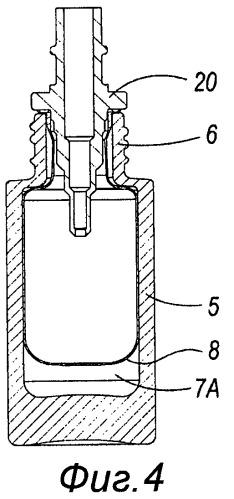 Контейнер, пригодный для соединения с насосами безвоздушного действия, и способ его изготовления