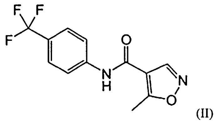 Способ получения таблеток терифлуномида