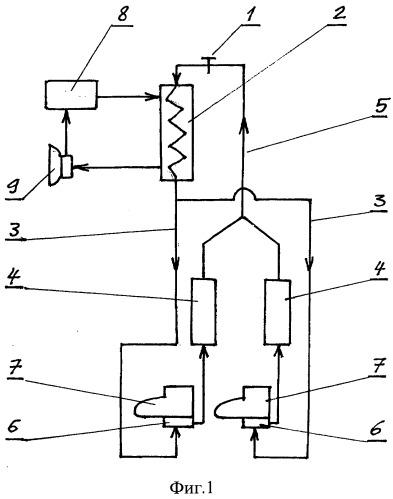 Устройство для охлаждения дыхательной смеси изолирующего аппарата