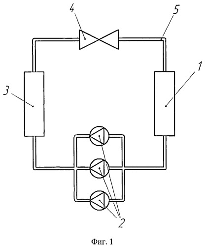 Теплонасосная установка для горячего водоснабжения или отопления