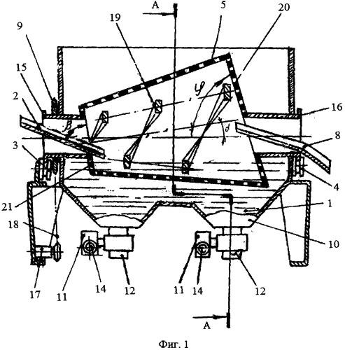 Машина для мойки сыпучих материалов