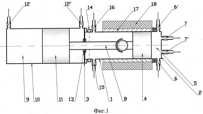 Устройство адиабатического сжатия (варианты)