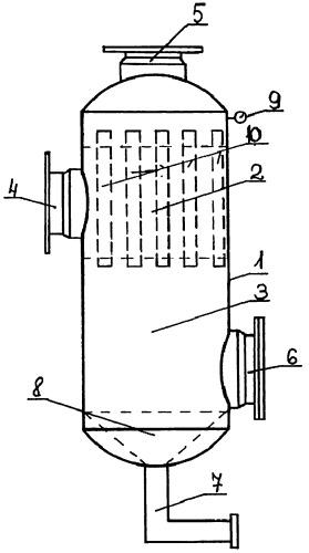 Способ очистки внутреннего пространства пылеуловителя мультициклонного типа