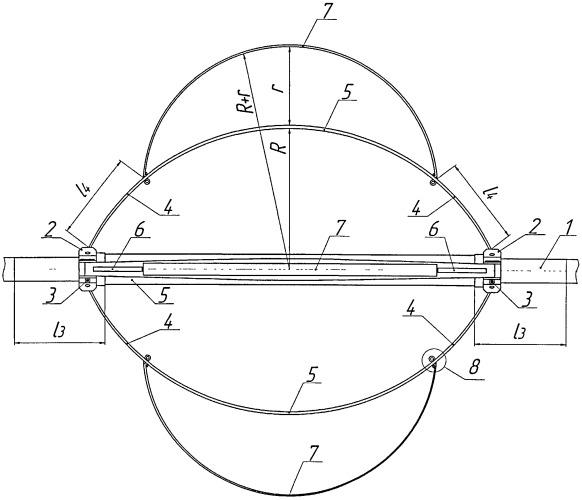 Устройство для центрирования скважинных приборов
