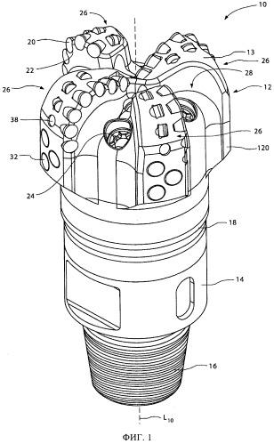 Способ формирования корпуса бурового инструмента, включающий технологии формовки и спекания, и корпус для бурового инструмента, сформированный этим способом