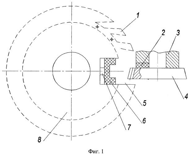 Способ обработки зубчатых конических колес круговой протяжкой