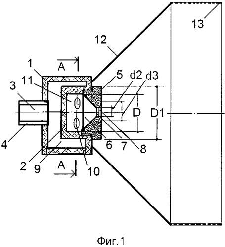 Центробежная широкофакельная форсунка кочетова