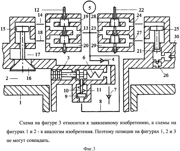 Способ привода газораспределительного клапана и топливной форсунки атмосферным воздухом из общего для всех цилиндров двигателя внутреннего сгорания пневмоаккумулятора