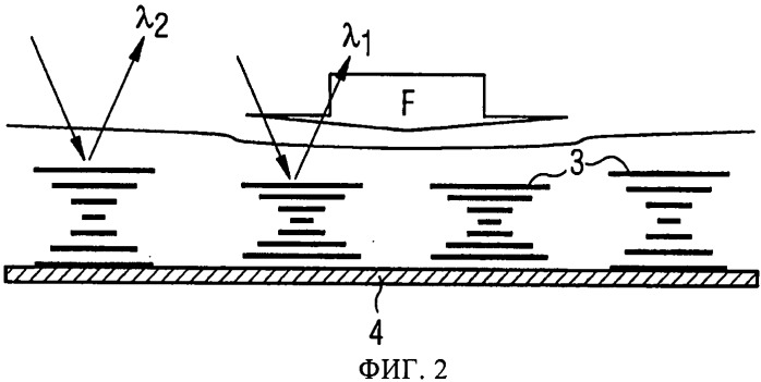 Пьезохромный защитный элемент на жидкокристаллической основе