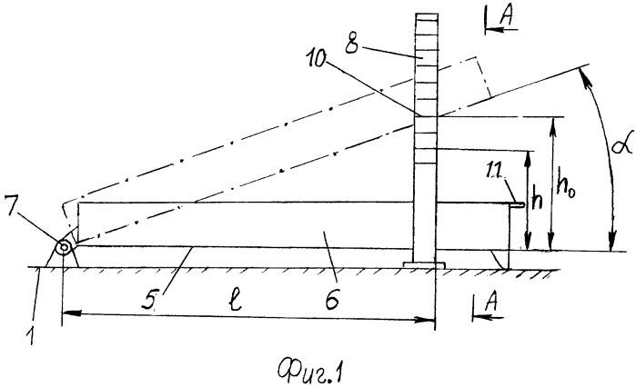 Устройство для определения величины коэффициента трения сыпучего груза о грузонесущей орган транспортной машины