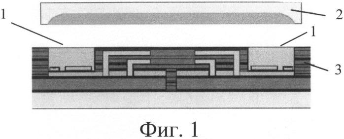 Способ формирования канала для передачи оптического сигнала между электронными модулями на одной печатной плате