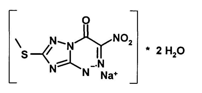 2-метилсульфанил-6-нитро-7-оксо-1,2,4-триазоло[5,1-c] [1,2,4]триазинид l-аргининия дигидрат, обладающий противовирусной активностью, способ его получения и применение для профилактики и лечения лихорадки западного нила