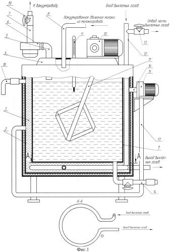 Резервуар для термизации молока в условиях пастбищ