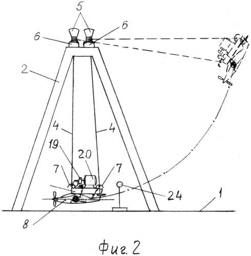 Устройство гравитационного запуска летательного аппарата