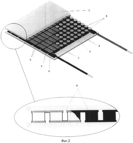 Термоэлектрический модуль (варианты)