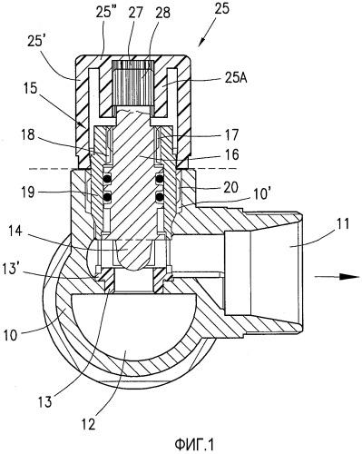 Запорно-регулировочный блок для запорных клапанов в нагревающих системах