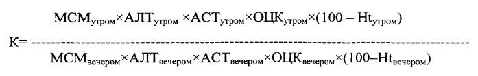 Способ исследования состояния детоксикационной функции печени