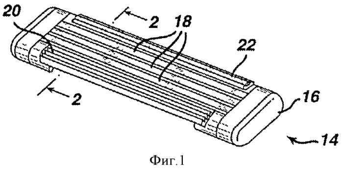 Контактирующий с кожей элемент, содержащий инкапсулированные активные компоненты