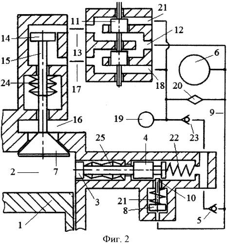 Способ управления рециркуляцией выхлопных газов в двигателе внутреннего сгорания системой гидравлического привода газораспределительного клапана