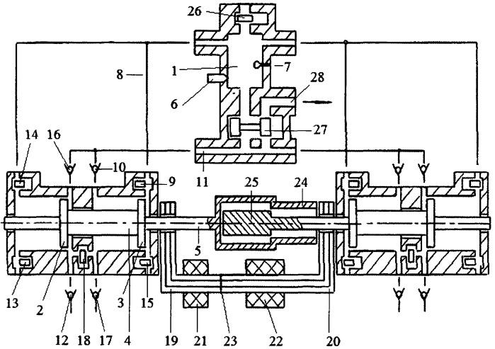 Способ генерирования сжатого воздуха свободнопоршневым энергомодулем с общей внешней камерой сгорания