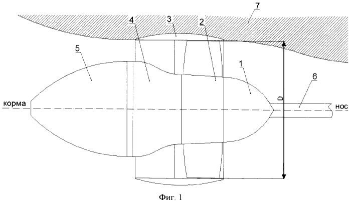 Легконагруженный водометный движитель